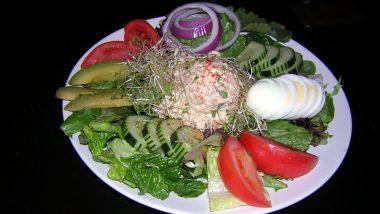 Delicious Tuna or Chicken Breast Salad